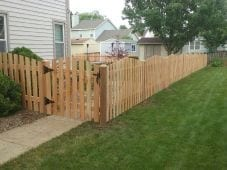 Spaced Arched Picket