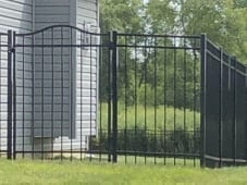 Flat Top with Arch Gate